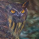 Eagle Owl by itssabbyg