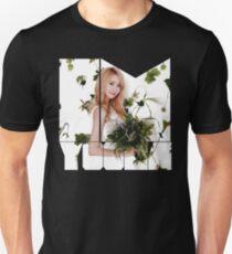 Girls' Generation (SNSD) Yoona Flower Typography T-Shirt