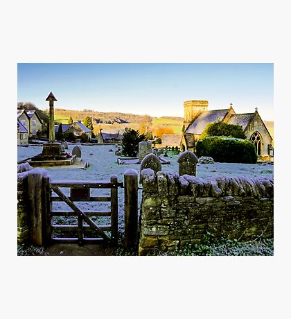 Beauty Beyond The Gate Photographic Print