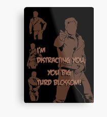 Quotes and quips - turd blossom Metal Print