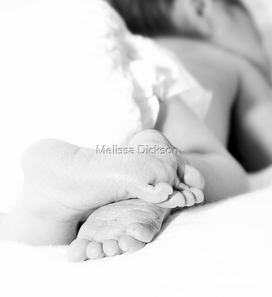Itty bitty toes  by Melissa Dickson