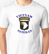 101st Airborne Vietnam Veteran -  iPad Case Unisex T-Shirt