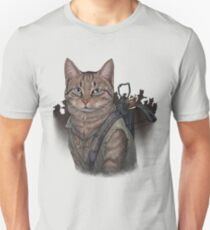 Daryl Dixon Cat T-Shirt