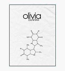 Fringe minimalist poster, Olivia Dunham Photographic Print