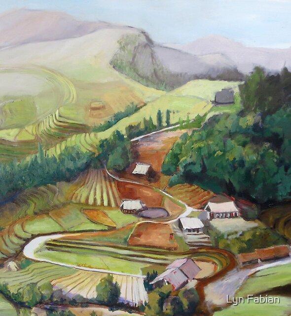 Landscape Vietnam by Lyn Fabian