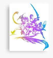 Final Fantasy 10-2 logo Canvas Print