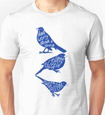 three lil birds. Unisex T-Shirt