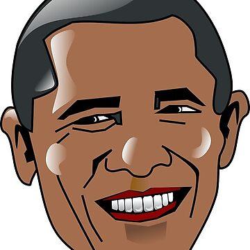 Barack Obama by JillianR95