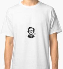 Contrasty Edgar Allan Poe Classic T-Shirt