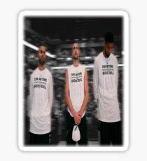 Spurs Big 3 Soft Edge Sticker