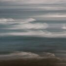 Seascape, slow surf. by Elisabeth Thorn