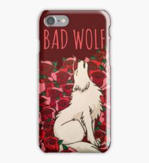Bad Wolf Roses iPhone Case/Skin