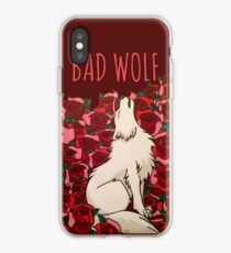 Bad Wolf Roses iPhone Case