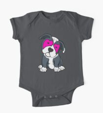 Love Hearts American Pit Bull Terrier Puppy  Kids Clothes