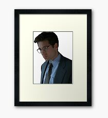 Fox Mulder - The X-Files Framed Print