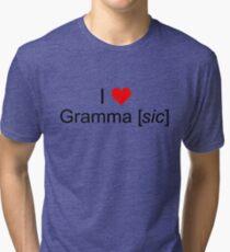 Love Grammar Tri-blend T-Shirt
