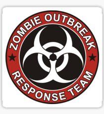 ZOMBIE RESPONSE TEAM 3 color Sticker