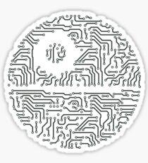 The Empire Circuit  Sticker