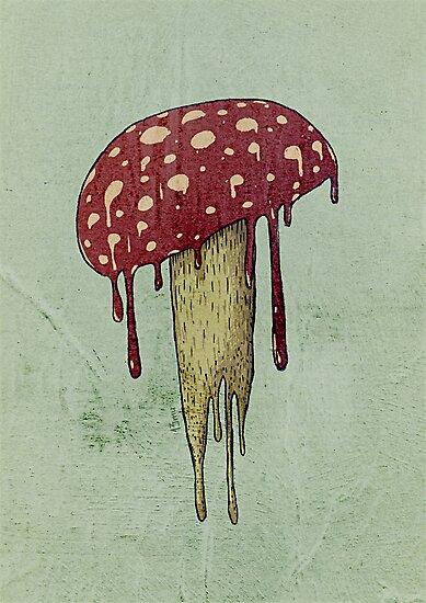 Mushroom by limeart