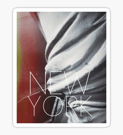 NEW YORK III Sticker