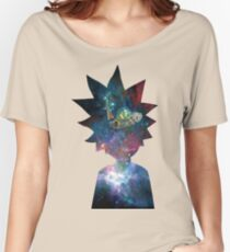 Rick and Morty Space Ship Women's Relaxed Fit T-Shirt