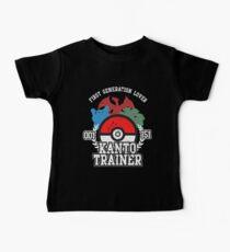 1st Generation Trainer (Dark Tee) Baby Tee