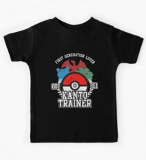 1st Generation Trainer (Dark Tee) Kids Tee