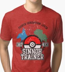 4th Generation Trainer (Light Tee) Tri-blend T-Shirt