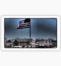 French Quarter Patriot Sticker