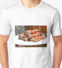 Grilled red meat skewers  T-Shirt