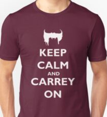 Keep Calm & Carrey On T-Shirt