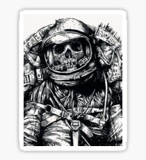 Dead Astronaut Sticker