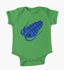 Blue Trilobite One Piece - Short Sleeve