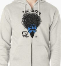 The Ghoul Channel 61 Repro Shirt Zipped Hoodie