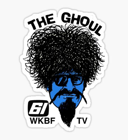 The Ghoul Channel 61 Repro Shirt Sticker