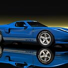 Ford GT40 by Walter Colvin