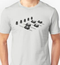 music mixer Unisex T-Shirt