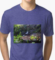 Turtons Creek Waterfall sparkles Tri-blend T-Shirt