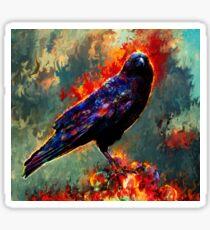 raven Sticker
