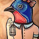 Blue Bird Babe by Stolensouljess