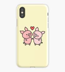 Little Pigs Valentine iPhone Case/Skin