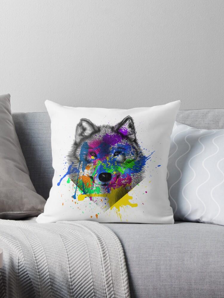 Wolf  by Keelin  Small