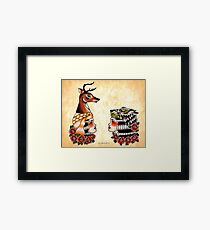 Yaqui Lady's Heads Framed Print