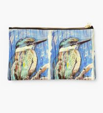 Sacred Kingfisher Studio Pouch