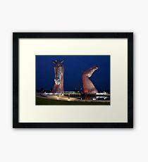 The Kelpies, Falkirk, Scotland Framed Print