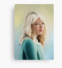 Gwen Stacy Canvas Print