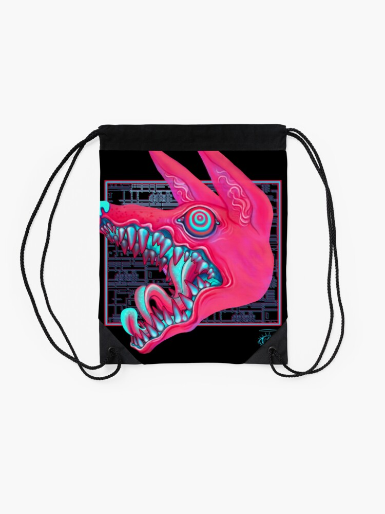 Alternate view of Canines Drawstring Bag