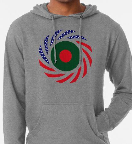 Bangladeshi American Multinational Patriot Flag Lightweight Hoodie