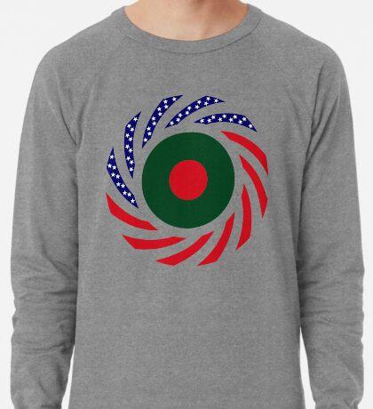 Bangladeshi American Multinational Patriot Flag Lightweight Sweatshirt