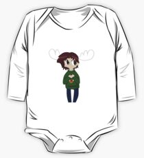 Merry Christmoose Sam Winchester One Piece - Long Sleeve